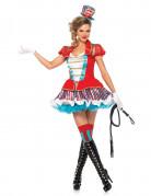 Déguisement dresseur de cirque Premium femme