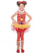 Déguisement clown de cirque fille