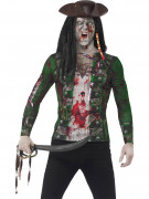 T-shirt pirate zombie homme adulte