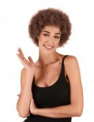 Vous aimerez aussi : Perruque afro/clown marron standard adulte
