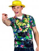 T-shirt touriste hawaïen homme
