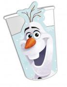8 Gobelets en carton Olaf Christmas ™