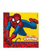 20 Serviettes en papier Ultimate Spiderman Power ™