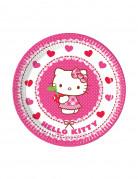 Vous aimerez aussi : 8 petites assiettes en carton Hello Kitty™ 19.5 cm