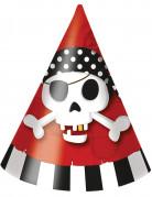 Vous aimerez aussi : 6 Chapeaux de fête carton Carte au trésor Pirate
