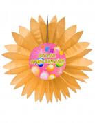 Vous aimerez aussi : Eventail papier joyeux anniversaire Fiesta orange 50 cm