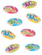 Vous aimerez aussi : 80 confettis de table 60 ans Fiesta