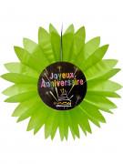 Vous aimerez aussi : Eventail papier joyeux anniversaire Feux d'artifice vert 50 cm