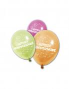 Vous aimerez aussi : 8 Ballons en latex Joyeux anniversaire 25 cm