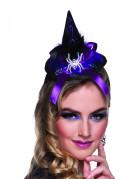 Vous aimerez aussi : Mini chapeau sorcière araignée femme Halloween