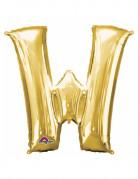 Vous aimerez aussi : Ballon aluminium Lettre W doré 33 cm