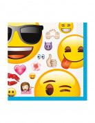 16 Serviettes Emoji ™