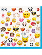 16 Grandes serviettes Emoji ™