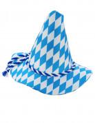 Chapeau Bavarois bleu et blanc adulte