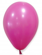 50 Ballons fuschia