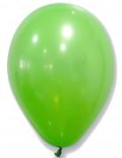 50 Ballons en latex verts