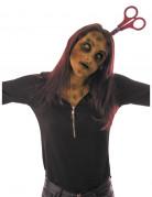 Serre-tête ciseaux ensanglantés adulte Halloween