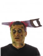 Serre-tête scie ensanglantée adulte Halloween