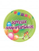 Vous aimerez aussi : 6 Petites Assiettes carton anniversaire Fiesta 18 cm