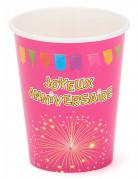 Vous aimerez aussi : 6 gobelets carton anniversaire Fiesta 27 cl