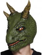 Masque latex dinosaure adulte