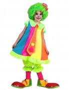 D�guisement clown fluo fille