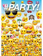 8 Cartes d'invitation Emoji™