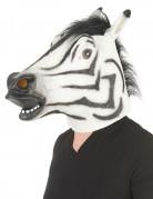 Masque zèbre latex adulte