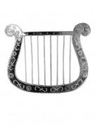 Petite harpe argentée 28 cm