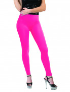 Legging rose fluo adulte