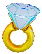 Ballon géant bague diamant 105 cm