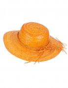 Vous aimerez aussi : Chapeau de paille vintage orange femme