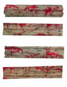 Décorations barricades de zombie