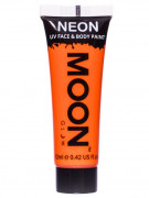 Gel visage et corps orange fluo UV 12 ml Moonglow ©