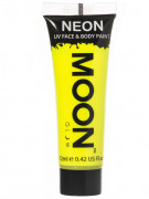 Gel visage et corps jaune fluo UV 12 ml Moonglow ©