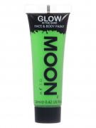 Gel visage et corps vert fluo phosphorescent 12 ml Moonglow ©