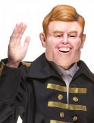 Masque humoristique en latex Guillaume Alexandre adulte