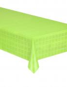Nappe en rouleau papier damassé vert anis 6 mètres