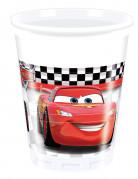 8 Gobelets en plastique Cars Formula™