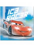 20 serviettes en papier Cars Ice™ 33 x 33 cm