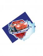 6 Cartes d'invitation avec enveloppes Cars Ice Racers™