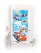 Décoration de porte Cars Ice Racers™ 76 x 150 cm