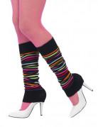 Vous aimerez aussi : Jambières striées noires et multicolores femme