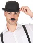 Moustache Charlie Chaplin noire adulte