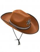 Vous aimerez aussi : Chapeau sherif marron clair adulte