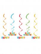 Vous aimerez aussi : 5 Suspensions en spirales Happy Birthday 50 et 64 cm