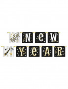 Guirlande en carton Happy New Year 1,50 m