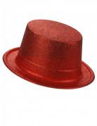 Vous aimerez aussi : Chapeau haut de forme plastique pailleté rouge adulte