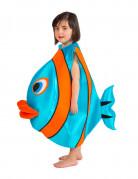 Déguisement poisson bleu enfant