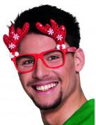 Vous aimerez aussi : Lunettes rouge renne adulte Noël
